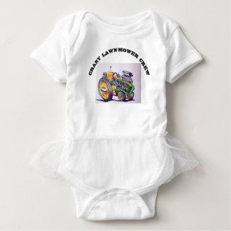 crazy_lawnmower_crew baby strampler
