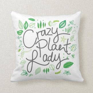 Crazy plant lady kissen