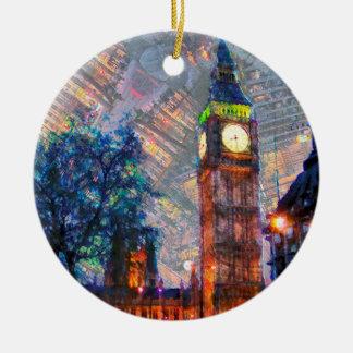 Crcle Verzierung-Großer Ben Keramik Ornament
