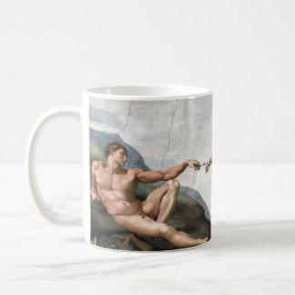 Creation of man kaffeetasse
