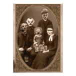 Creepy Clown-Familien-Halloween-Party Ankündigungskarten