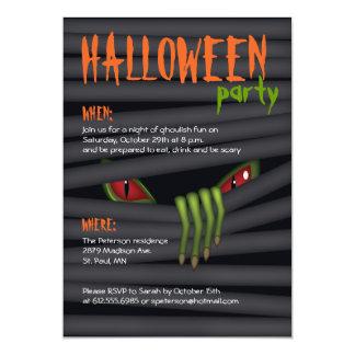 Creepy Halloween-Party-Einladung 12,7 X 17,8 Cm Einladungskarte