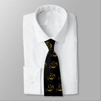 Creepy Jack o Laternen-Halloween-Krawatte Krawatte