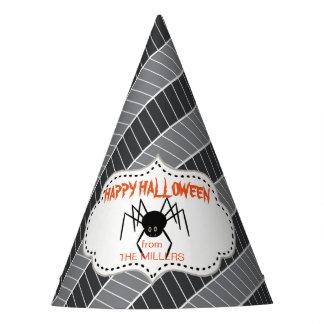 Creepy Leckerei-Spinne ID219 Partyhütchen