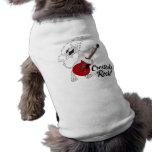 Cresteds Felsen-Haustier-T-Stück Hunde T Shirt
