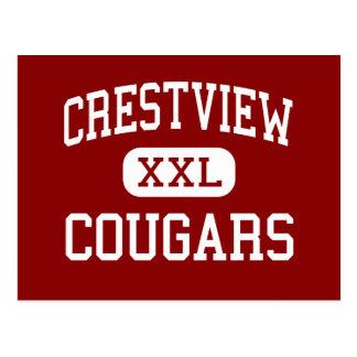 Crestview - Pumas - Sekundarschule - Ashland Ohio Postkarte