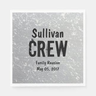CREW | Gruppen-oder des Familienname-| Serviette