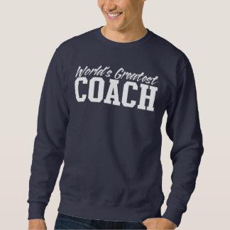 Crewneck der Trainer der Welt beststes Sweatshirt