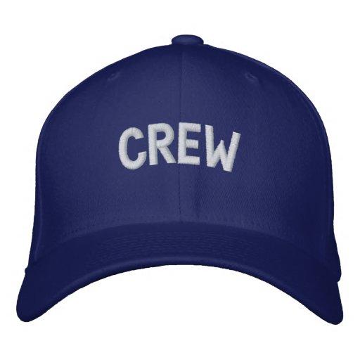 Crewtext Besticktes Baseballcap