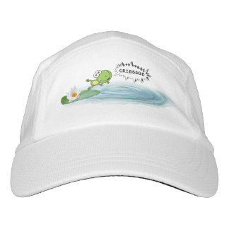 Cribbage Frosch Headsweats Kappe