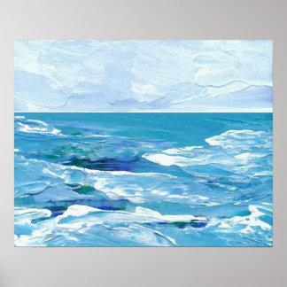 CricketDiane Ozean-Plakat - helles magisches Meer Poster