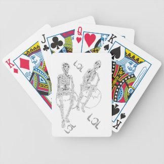 CricketDiane Skeltie Spielkarten 1 Skelett-LOL