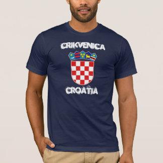 Crikvenica, Kroatien mit Wappen T-Shirt