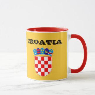 Croatia* Flagge und Wappen-Schale Tasse