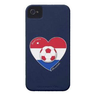"Croatia ""HRVATSKA"" Soccer Team Fußball Kroatien 20 Case-Mate iPhone 4 Hüllen"
