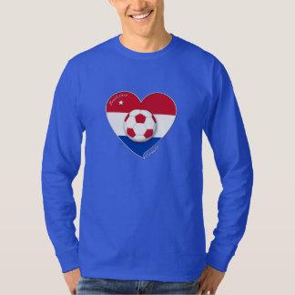 """CROATIA"" Soccer Team. Fußball von Kroatien 2014 T Shirt"