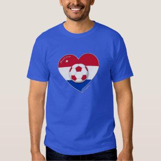 """""""CROATIA"""" Soccer Team. Fußball von Kroatien 2014 T-Shirts"""