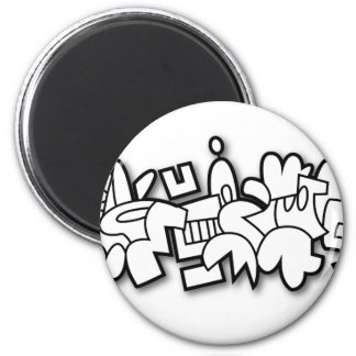 Crocbunny Runder Magnet 5,1 Cm