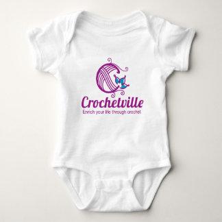 Crochetville Baby-Bodysuit Baby Strampler