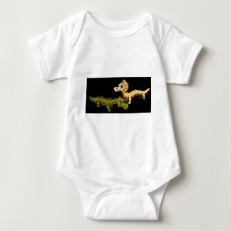 Crocka und Sfinks Baby Strampler