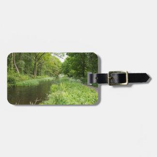 Cromford Kanal-Derbyshire-Andenken-Foto Gepäckanhänger