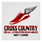 Cross Country-Betrieb Poster