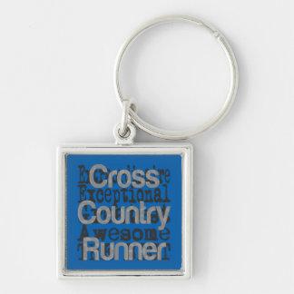 Cross Country-Läufer Extraordinaire Schlüsselanhänger