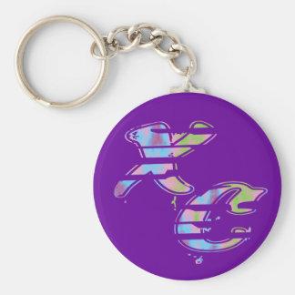Cross Country-Läufer Schlüsselanhänger
