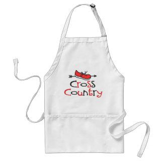 Cross Country-Läufer Schürze
