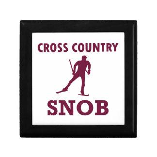 Cross Country-Ski-Snob Geschenkbox