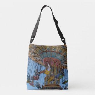 Crossbody Handtasche der bunten aufregenden Fahrt