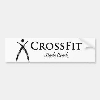 CrossFit Logoschwarzes Autoaufkleber