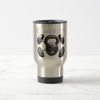 CrossFitter Kaffee-Reise-Tasse Edelstahl Thermotasse