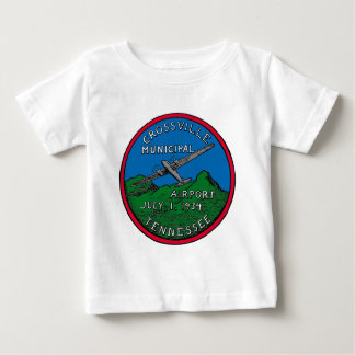 CrossvilleAirport1934logoColor3trimmedLevel.jpg Baby T-shirt