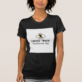 CrossWalk - das T-Stück der Frauen (Schwarzes) T-Shirt