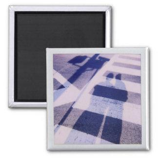 Crosswalk Quadratischer Magnet