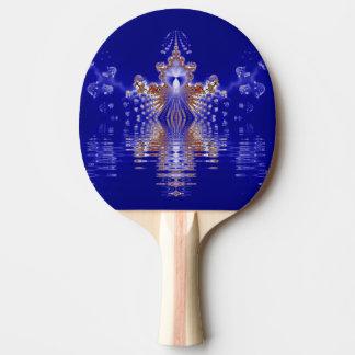 Crown See-blaues KristallFraktal Tischtennis Schläger