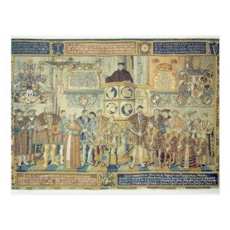 Croy Tapisserie, 1554 Postkarte