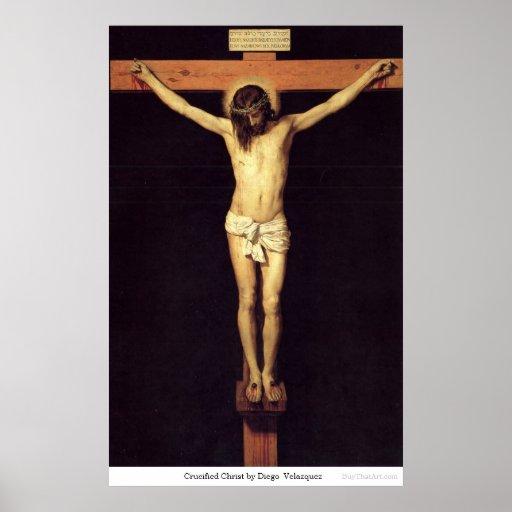 Crucified Christus durch Diego Velazquez Posterdrucke