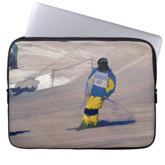 Cruisin herein   -   Skifahren-Ereignis Laptop Sleeve