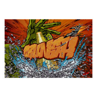Crunsh, Graffiti Comic Poster