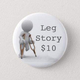 CRUTCHESLARGE, LegStory$10 Runder Button 5,1 Cm