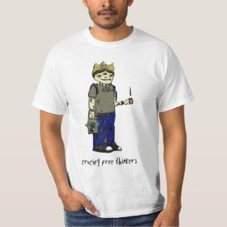 Cruvify freie Denker-Farbe Tshirts