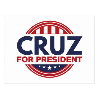 Cruz für Präsidenten Postkarte