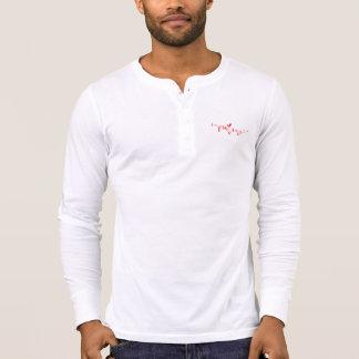 CRYPTOCURRENCY SURFER-(ROTE) LANGE HÜLSE T-Shirt