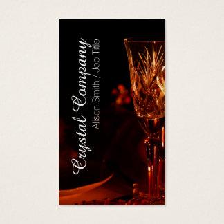 Crystal Company/Tableware Service Visitenkarte