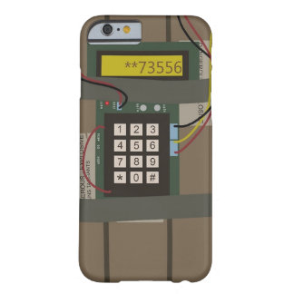 CS: GEHEN Bomben-Telefon-Kasten Barely There iPhone 6 Hülle