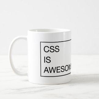 CSS *is* ehrfürchtig Kaffeetasse