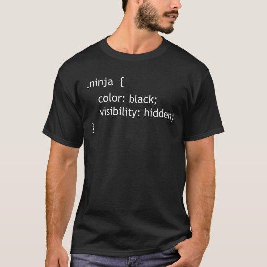 CSS ninja Artklasse T-Shirt