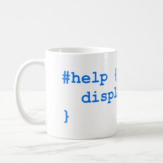 CSS no help Kaffeetasse